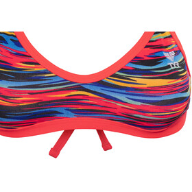 TYR Bonzai Crosscutfit Tieback Bikini Top Black/Multi